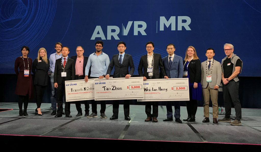 Tao Zhan wins first place in SPIE AR VR XR optical design challenge