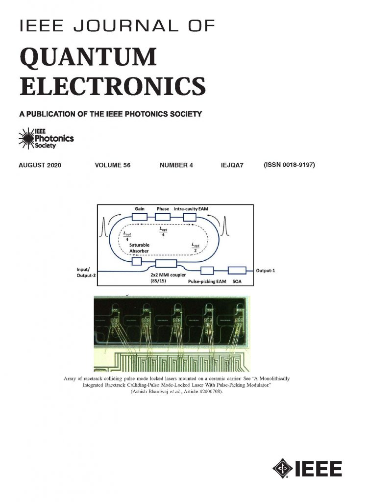 IEEE JQE Cover August 2020